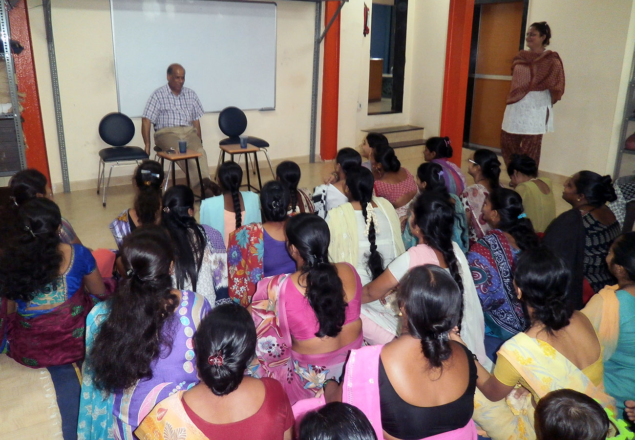 An interesting and informative session with Mr. Anami Roy on Women Empowerment held on 28th March, 2012